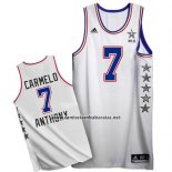 Camiseta All Star 2015 Carmelo Anthony #7 Blanco