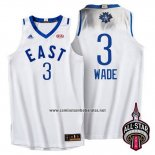 Camiseta All Star 2016 Dwyane Wade #3 Blanco