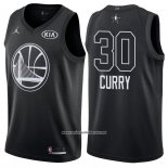 Camiseta All Star 2018 Golden State Warriors Stephen Curry #30 Negro