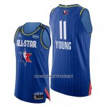 Camiseta All Star 2020 Eastern Conference Trae Young #11 Azul