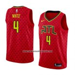 Camiseta Atlanta Hawks Andrew White #4 Statement 2018 Rojo