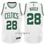Camiseta Boston Celtics Abdel Nader #28 Home 2017-18 Blanco
