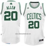 Camiseta Boston Celtics Ray Allen #20 Blanco
