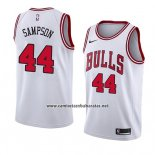 Camiseta Chicago Bulls Brandon Sampson #44 Association 2018 Blanco
