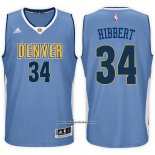Camiseta Denver Nuggets Roy Hibbert #34 Azul