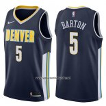 Camiseta Denver Nuggets Will Barton #5 Icon 2017-18 Azul