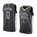 Camiseta Golden State Warriors Demarcus Cousins Statement #0 2018-19 Negro