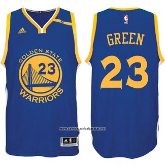 Camiseta Golden State Warriors Draymond Green #23 Azul