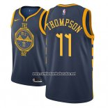 Camiseta Golden State Warriors Klay Thompson #11 2018-19 Azul