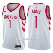 Camiseta Houston Rockets Trevor Ariza #1 Swingman Association 2017-18 Blanco