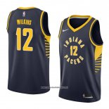 Camiseta Indiana Pacers Damien Wilkins #12 Icon 2018 Azul
