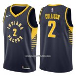 Camiseta Indiana Pacers Darren Collison #2 Icon 2017-18 Azul