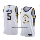 Camiseta Indiana Pacers Edmond Sumner #5 Association 2018 Blanco
