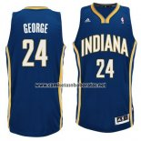 Camiseta Indiana Pacers Paul George #24 Azul