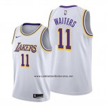 Camiseta Los Angeles Lakers Dion Waiters #11 Association 2020 Blanco