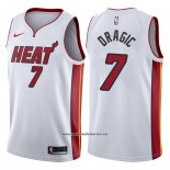 Camiseta Miami Heat Goran Dragic #7 2017-18 Blanco