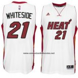 Camiseta Miami Heat Hassan Whiteside #21 Blacno
