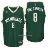 Camiseta Milwaukee Bucks Matthew Dellavedova #8 Verde