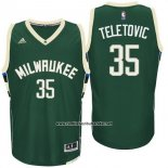 Camiseta Milwaukee Bucks Mirza Teletovic #35 Verde
