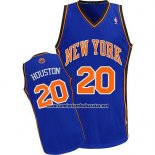 Camiseta New York Knicks Allan Houston #20 Retro Azul
