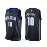 Camiseta Orlando Magic Evan Fournier #10 Statement Negro