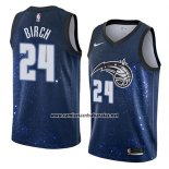 Camiseta Orlando Magic Khem Birch #24 Ciudad 2018 Azul