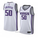 Camiseta Sacramento Kings Caleb Swanigan #50 Association 2018 Blanco
