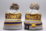 Gorro Golden State Warriors Gris