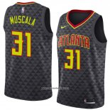 Camiseta Atlanta Hawks Mike Muscala #31 Icon 2018-19 Negro