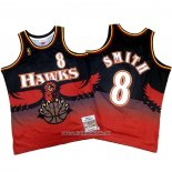 Camiseta Atlanta Hawks Steve Smith #8 Retro Rojo