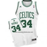 Camiseta Boston Celtics Paul Pierce #34 Blanco