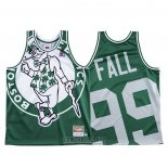 Camiseta Boston Celtics Tacko Fall #99 Mitchell & Ness Big Face Verde