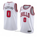 Camiseta Chicago Bulls Antonius Cleveland #0 Association 2018 Blanco