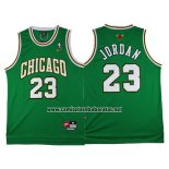 Camiseta Chicago Bulls Michael Jordan #23 Retro Verde