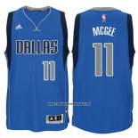 Camiseta Dallas Mavericks JaVale McGee #11 Azul