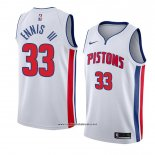 Camiseta Detroit Pistons James Ennis Iii #33 Association 2018 Blanco