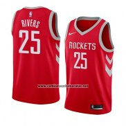 Camiseta Houston Rockets Austin Rivers #25 Icon 2018 Rojo