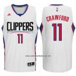 Camiseta Los Angeles Clippers Jamal Crawford #11 Blanco