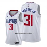 Camiseta Los Angeles Clippers Marcus Morris Sr. #31 Association 2019-20 Blanco