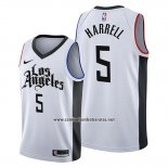 Camiseta Los Angeles Clippers Montrezl Harrell #5 Ciudad Edition Blanco