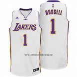 Camiseta Los Angeles Lakers D'Angelo Russell #1 Blanco