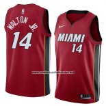 Camiseta Miami Heat Derrick Walton Jr. #14 Statement 2018 Rojo