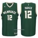 Camiseta Milwaukee Bucks Jabari Parker #12 Verde