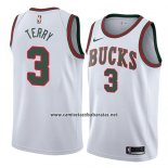 Camiseta Milwaukee Bucks Jason Terry #3 Classic 2018 Blanco