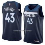 Camiseta Minnesota Timberwolves Anthony Tolliver #43 Icon 2018 Azul