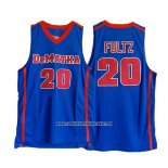 Camiseta NCAA Washington State Dematha Markelle Fultz #20 Azul