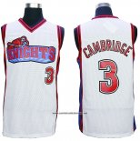 Camiseta Pelicula Knights Calvin Cambridge #3 Blanco