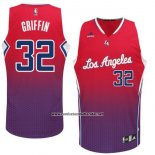Camiseta Resonate Moda Los Angeles Clippers Blake Griffin #32 Rojo