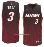 Camiseta Resonate Moda Miami Heat Dwyane Wade #3 Rojo