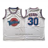 Camiseta Tune Squad Stephen Curry #30 Blanco